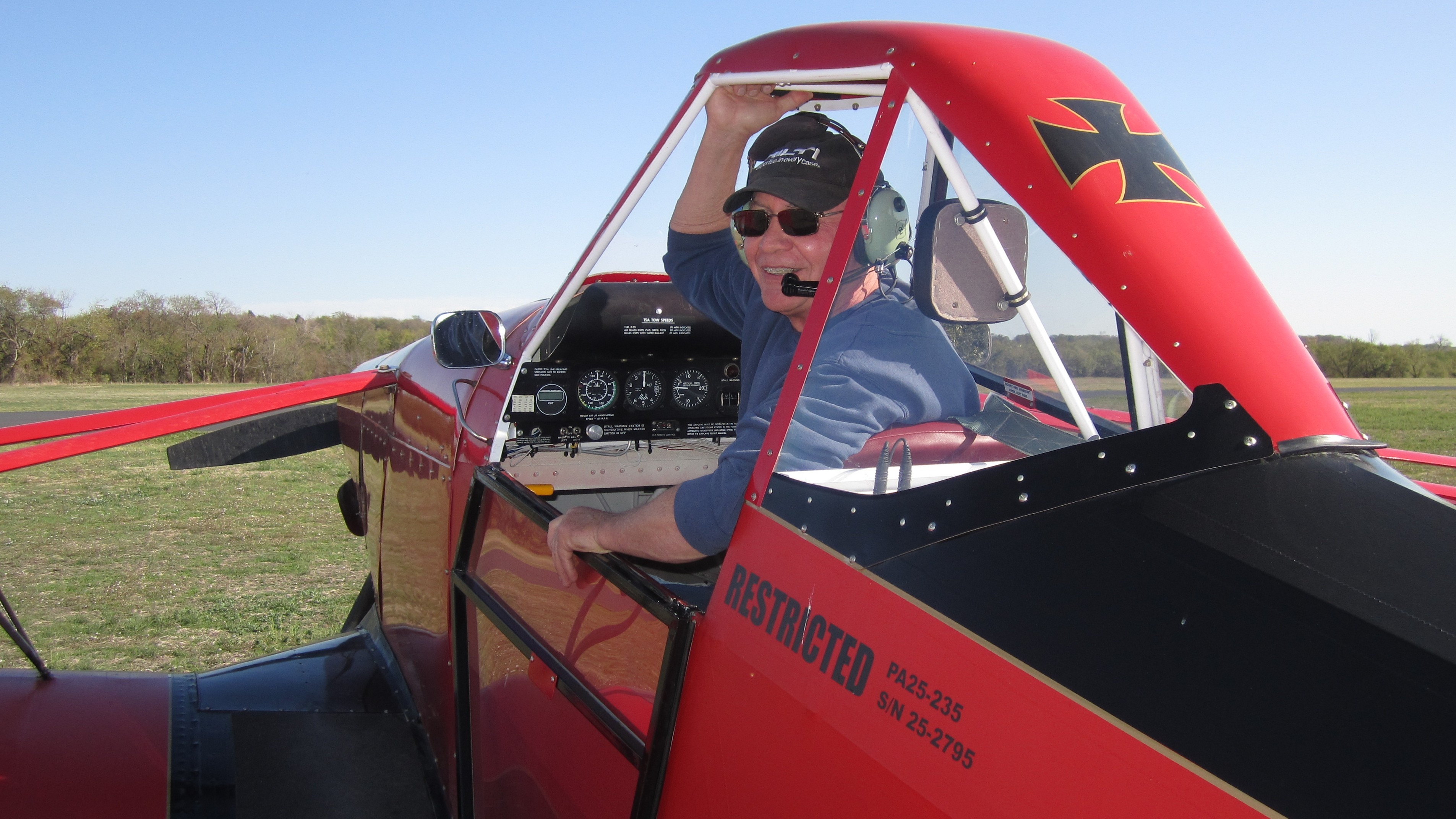 Tow pilot at Texas Soaring Association